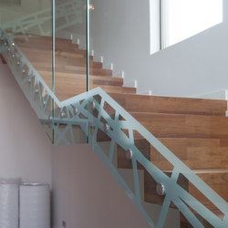 Python | Glass stairs | Siller Treppen