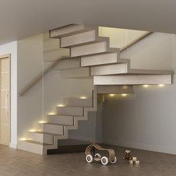 Faltwerk glass | Staircase systems | Siller Treppen