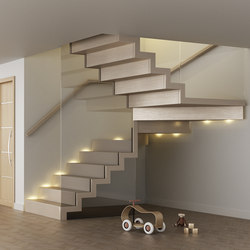 Faltwerk glass | Glass stairs | Siller Treppen