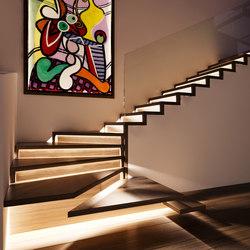 Faltwerk classique | Escaliers en bois | Siller Treppen