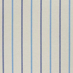 Brera Rigato II Fabrics | Brera Nastro - Cobalt | Tissus pour rideaux | Designers Guild