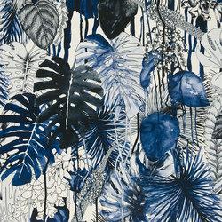Belles Rives Fabrics | Jardin Exo Chic - Mediterranee | Curtain fabrics | Designers Guild