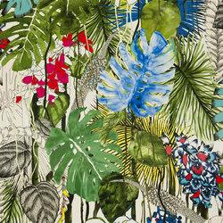 Belles Rives Fabrics | Jardin Exo Chic - Bougainvillier | Curtain fabrics | Designers Guild