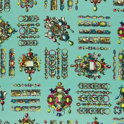 Belles Rives Fabrics | La Main Au Collet - Piscine | Curtain fabrics | Designers Guild