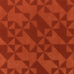 Fold CC2 orange | Tapis / Tapis design | Amini
