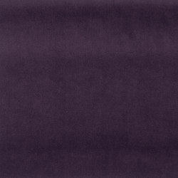 Signature English Riding Velvet Fabrics | Windsor Purple | Curtain fabrics | Designers Guild