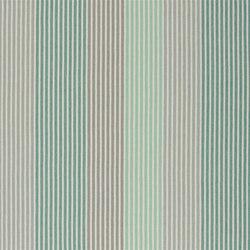 Brera Rigato II Fabrics | Brera Colorato - Jade | Tissus pour rideaux | Designers Guild
