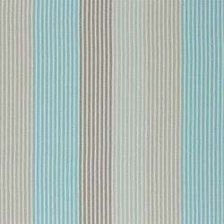Brera Rigato II Fabrics | Brera Colorato - Turquoise | Curtain fabrics | Designers Guild
