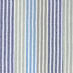 Brera Rigato II Fabrics | Brera Colorato - Cobalt | Tessuti tende | Designers Guild