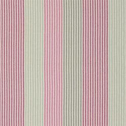 Brera Rigato II Fabrics | Brera Colorato - Berry | Curtain fabrics | Designers Guild
