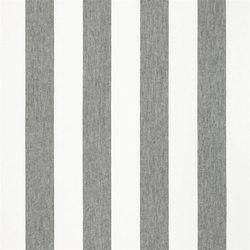 Brera Rigato Stripe Fabrics | Brera Largo - Granite | Curtain fabrics | Designers Guild