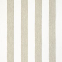 Brera Rigato Stripe Fabrics | Brera Largo - Pebble | Tejidos para cortinas | Designers Guild