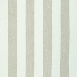 Brera Rigato Stripe Fabrics | Brera Largo - Shell | Curtain fabrics | Designers Guild