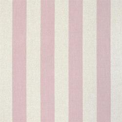 Brera Rigato Stripe Fabrics | Brera Largo - Blossom | Curtain fabrics | Designers Guild