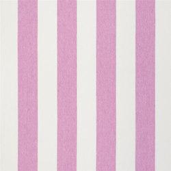 Brera Rigato Stripe Fabrics | Brera Largo - Peony | Tissus pour rideaux | Designers Guild
