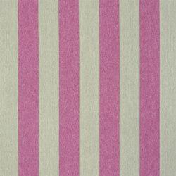 Brera Rigato Stripe Fabrics | Brera Largo - Raspberry | Curtain fabrics | Designers Guild