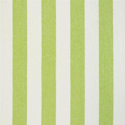 Brera Rigato Stripe Fabrics | Brera Largo - Lime | Curtain fabrics | Designers Guild