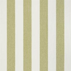 Brera Rigato Stripe Fabrics | Brera Largo - Pistachio | Tessuti tende | Designers Guild