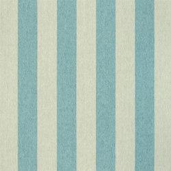 Brera Rigato Stripe Fabrics | Brera Largo - Ocean | Curtain fabrics | Designers Guild