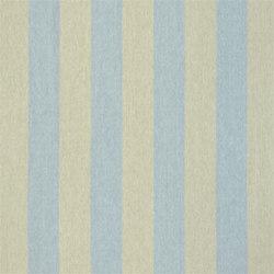 Brera Rigato Stripe Fabrics | Brera Largo - Lapis | Vorhangstoffe | Designers Guild