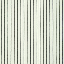 Brera Rigato Stripe Fabrics | Brera Fino - Noir | Vorhangstoffe | Designers Guild