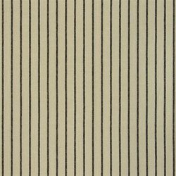 Brera Rigato Stripe Fabrics | Brera Fino - Ebony | Vorhangstoffe | Designers Guild
