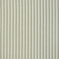 Brera Rigato Stripe Fabrics | Brera Fino - Cocoa | Vorhangstoffe | Designers Guild