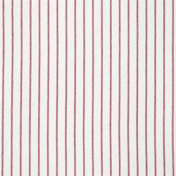 Brera Rigato Stripe Fabrics | Brera Fino - Raspberry | Tejidos para cortinas | Designers Guild