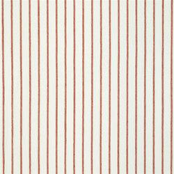 Brera Rigato Stripe Fabrics | Brera Fino - Pimento | Curtain fabrics | Designers Guild