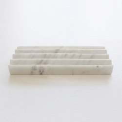 Chevron Marble Tray | Estantes | Evie Group