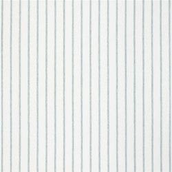 Brera Rigato Stripe Fabrics | Brera Fino - Aqua | Tessuti tende | Designers Guild