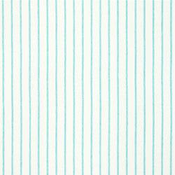 Brera Rigato Stripe Fabrics | Brera Fino - Turquoise | Curtain fabrics | Designers Guild