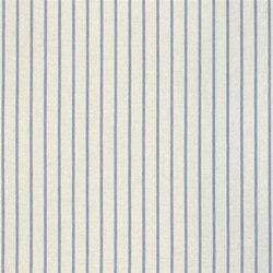 Brera Rigato Stripe Fabrics | Brera Fino - Marine | Curtain fabrics | Designers Guild