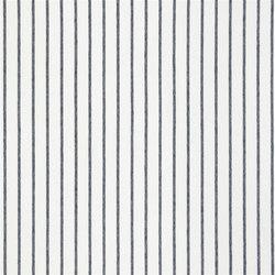 Brera Rigato Stripe Fabrics | Brera Fino - Indigo | Tessuti tende | Designers Guild