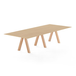 Trestle table | Esstische | viccarbe