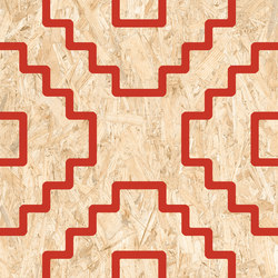 Reriaki-R Natural Rojo | Ceramic tiles | VIVES Cerámica
