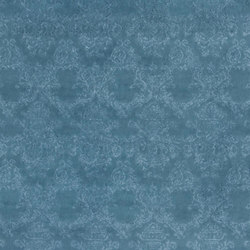 Zambelli Fabrics | Molano - Teal | Vorhangstoffe | Designers Guild