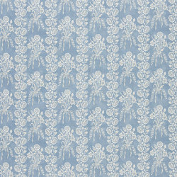 Exmere Fabrics | Amandine - Sky | Curtain fabrics | Designers Guild