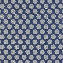 Exmere Fabrics | Barrameda - Denim | Tissus pour rideaux | Designers Guild