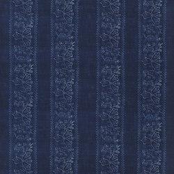 Indigo Bleu Fabrics | Fiorita - Indigo | Curtain fabrics | Designers Guild