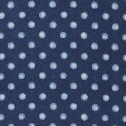 Indigo Bleu Fabrics | Chesari - Indigo | Tissus pour rideaux | Designers Guild