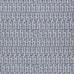 Indigo Bleu Fabrics | Kinvara - Indigo | Tessuti tende | Designers Guild