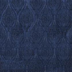 Indigo Bleu Fabrics | Alvia - Indigo | Curtain fabrics | Designers Guild