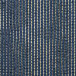 Indigo Bleu Fabrics | Renzo - Indigo | Vorhangstoffe | Designers Guild