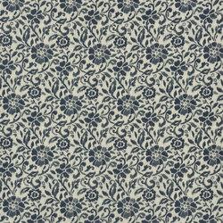 Indigo Bleu Fabrics | Oberto - Woad | Curtain fabrics | Designers Guild