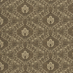Signature Artiste de la Mer Fabrics | Avignon Batik - Sepia | Tissus pour rideaux | Designers Guild