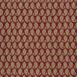 Signature Artiste de la Mer Fabrics | Boudin Paisley - Madder | Curtain fabrics | Designers Guild