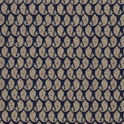 Signature Artiste de la Mer Fabrics | Boudin Paisley - Provence | Tissus pour rideaux | Designers Guild