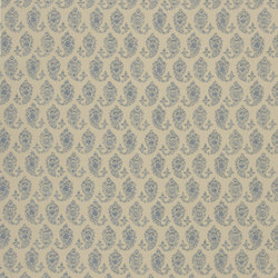Signature Artiste de la Mer Fabrics | Boudin Paisley - Chambray | Curtain fabrics | Designers Guild