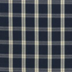 Signature Artiste de la Mer Fabrics | Granville Plaid - Navy | Tissus pour rideaux | Designers Guild